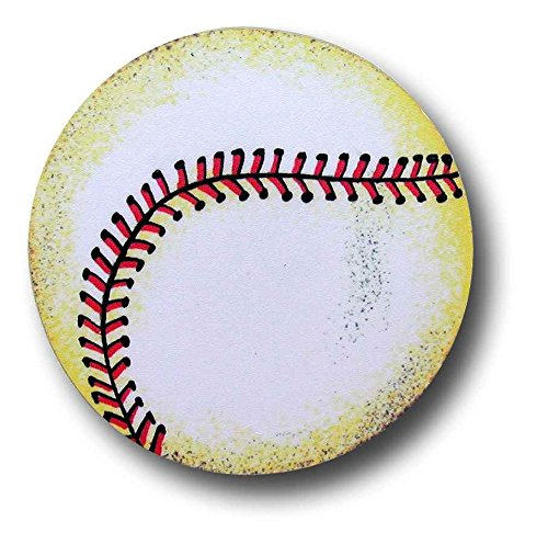 Baseball Drawer Pulls (Set of 2)