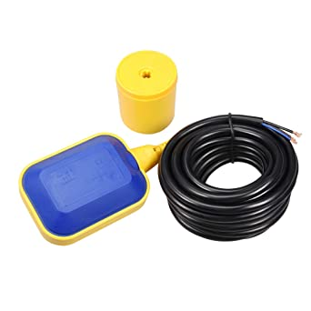 Interruptor De Flotador Líquido Fluido Nivel De Agua Controlador Sensor 250V 1