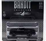 1967 Ford F-100 Pickup Truck Black Bandit 1/64