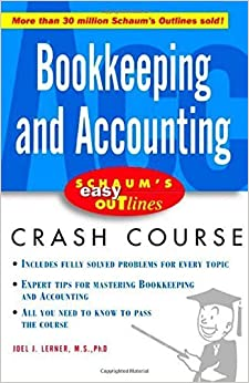 Book Schaum's Easy Outline Bookkeeping and Accounting by Joel Lerner (2003-10-27)