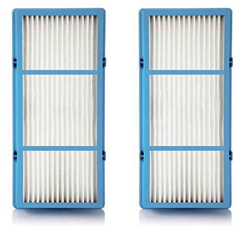 Holmes AER1 HEPA Total Air Filter Replacement For Purifier HAP242-NUC, 2 Filters (Indoor Grill Cleaning Sponge)