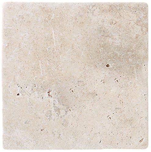 Dal-Tile T72044TS1P Travertine Tile Baja Cream Tumbled (TS50441P) 12 x 12