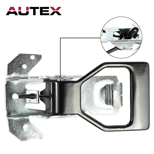 AUTEX Black Interior Inner Front Right/Left Side Door Handle for 1982 1983 1984 1985 1986 1987 1988 1989 1990 1991 1992 Chevrolet (Camaro Right Door)