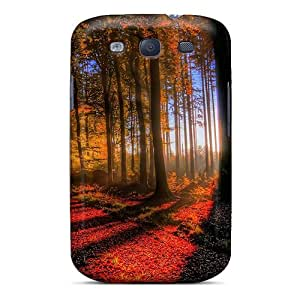 Ultra Slim Fit Hard FCKLocation Case Cover Specially Made For Galaxy S3- Amazing Forest