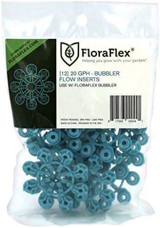 FloraFlex Bubbler Flow Insert 20 GPH 1 12 Pack