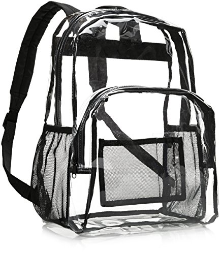 AmazonBasics Clear School Sporting Events