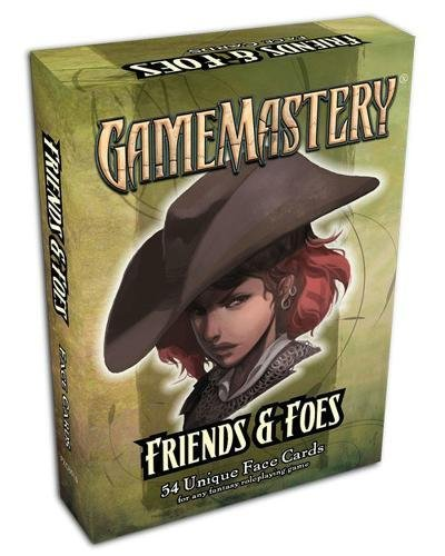 GameMastery Face Cards: Friends & Foes pdf