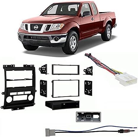 Metra95-7619 Car Stereo Installation Dash Kit for 2013-Up Nissan Frontier//Titan//Xterra, Black Metra Electronics Corp