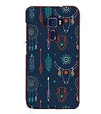 Fiobs Designer Back Case Cover for Asus Zenfone 3 ZE520KL (5.2 Inches) (Multicolor Ethnic Design Number 11)