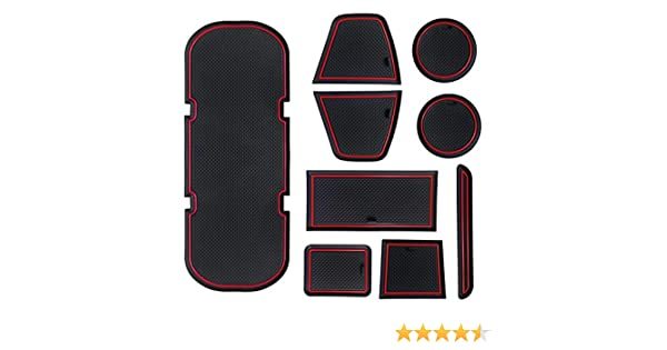 2007 Subaru Outback Red Oriental Driver Passenger /& Rear Floor GGBAILEY D3736A-S1A-RD-IS Custom Fit Car Mats for 2005 2006
