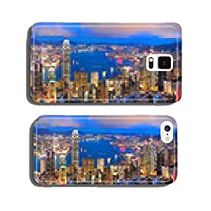 hong kong sunset panorama cell phone cover case iPhone5