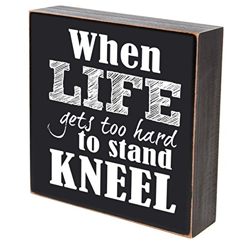 When Life Gets too Hard To Stand Kneel wedding anniversary gift for couple, House Warming Gift ideas for Mr. and Mrs. shadow box by LifeSong Milestones 6