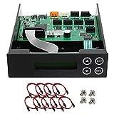 1-2-3-4-5-6-7 Blu-ray CD/ DVD/ BD SATA Duplicator Copier CONTROLLER + Cables, Screws
