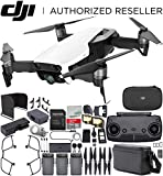 DJI Mavic Air Drone Quad Copter Fly More Combo (Arctic White) Bundle For Sale