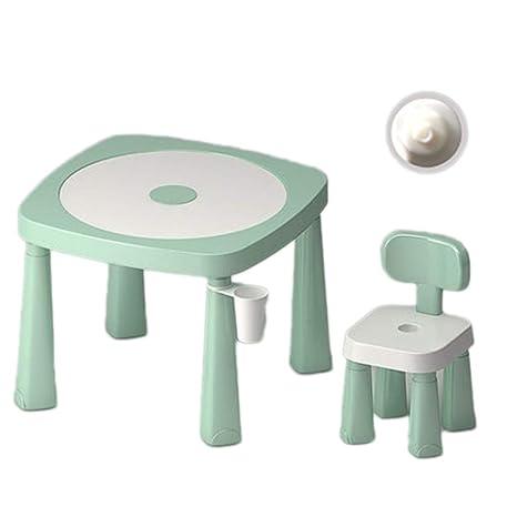 Amazon.com: Juego de mesa y sillas de plástico para niños ...