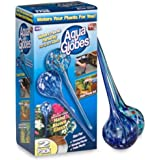 Aqua Globes AG011706 Glass Plant Watering Bulbs, 2-Pack