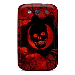 Durable Cell-phone Hard Covers For Samsung Galaxy S3 With Support Your Personal Customized Beautiful Gears Of War 3 Game Official Pictures AlissaDubois