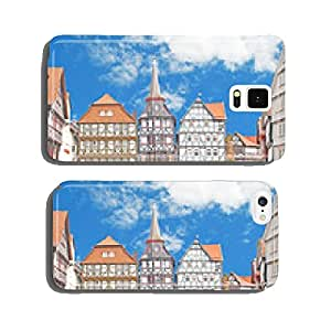 Pretty half-timbered houses on the marketplace of Fritzlar cell phone cover case iPhone6