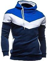 Zacoo Herren Kapuzenpullover Sweatshirt Hoodie Kapuze Pullover(Erhalten Sie 1 freien Charme nach dem Zufall)