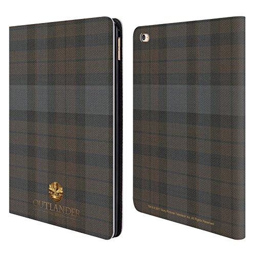 Official Outlander Plaid Tartans Leather Book Wallet Case Co