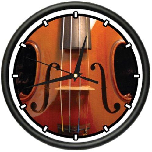 VIOLIN Wall Clock new band music teacher bow 4/4 gift Arts ...