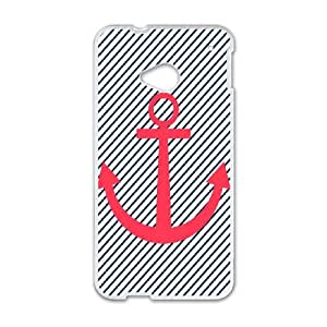 Anchor HTC One M7 Cell Phone Case White MUS9217735