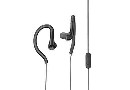 Motorola Active Wired Sports Earphones (Black) In-Ear Headphones at amazon