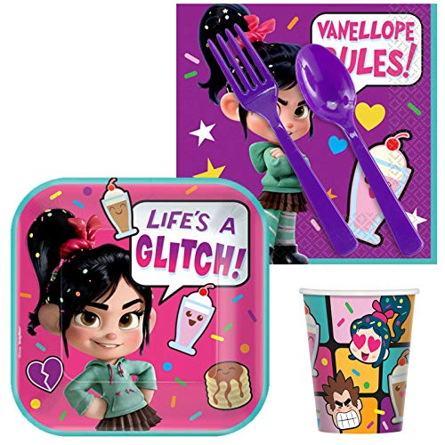 BirthdayExpress Wreck It Ralph 2 Snack Pack for 16 ()