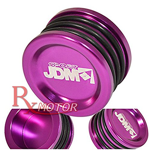Rxmotor Blue Anodized Engine Cam Shaft Seal Cover Cap For B / D / H / F Series Engines (PURPLE) Honda Cam Seal