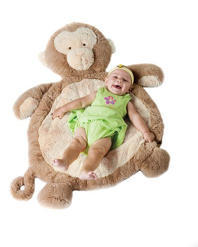 Bestever Baby Mat, Monkey (Discontinued by Manufacturer)
