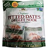 Royal Palm Organic Deglet Noor Dates Pitted (2 oz / 8-Pack), All Natural, Certified Vegan, Gluten Free, NON-GMO Verified, Kosher