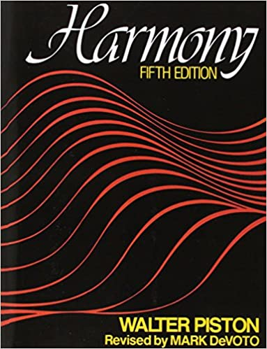 harmony fifth edition walter piston mark devoto 9780393954807