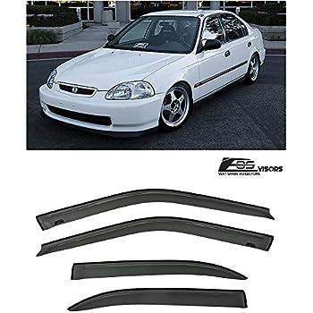 386f932bfe8 Extreme Online Store for 1996-2000 Honda Civic 4Dr Sedan Models   EOS Visors  JDM