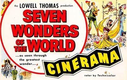 Seven Wonders of the World, Cinerama Movie Poster Postcard: Amazon.es: Juguetes y juegos
