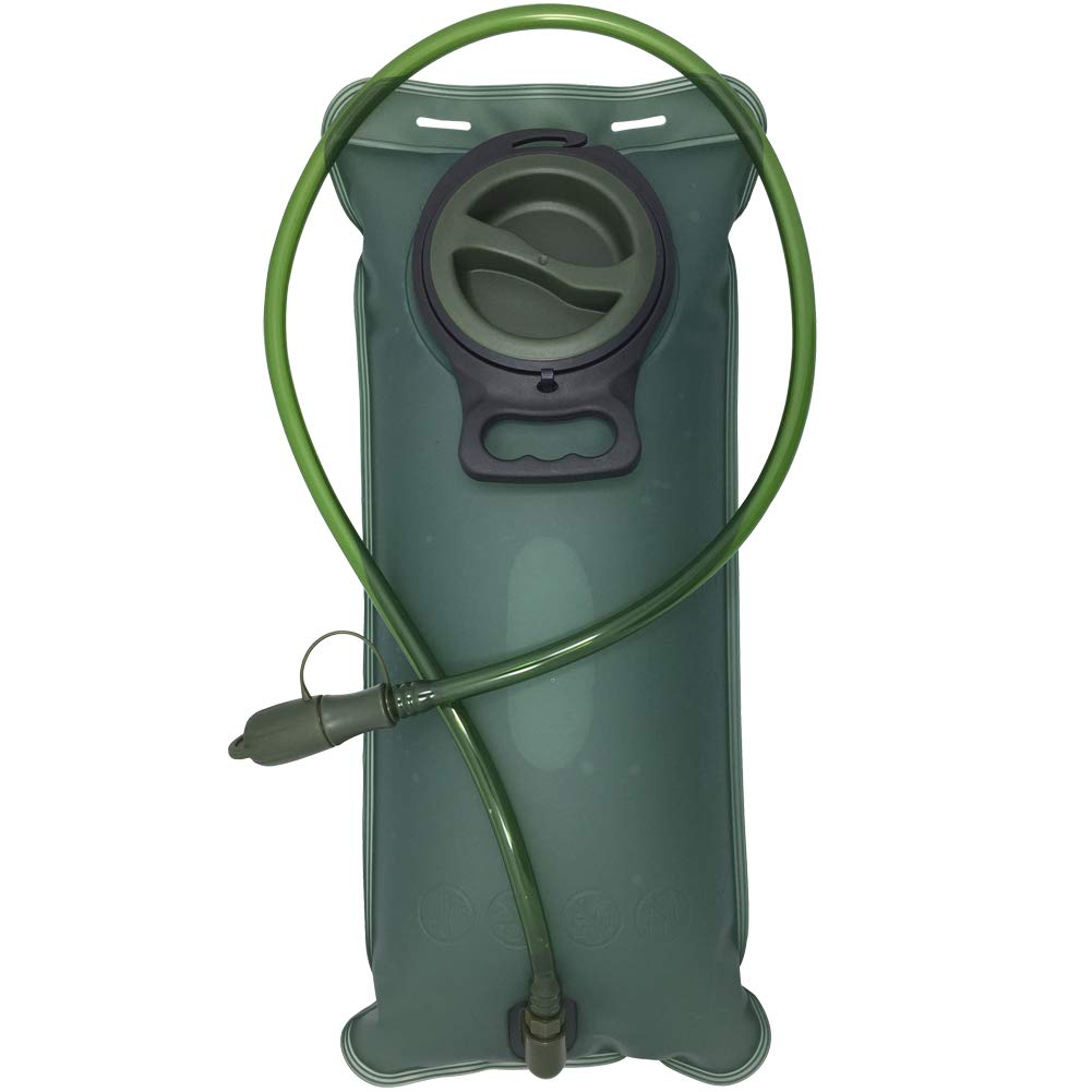 theBlueStone 3L Bolsa De Agua Vejiga de Agua Hermética para Mochila Hidratación Aprobado por La FDA Y BPA Libre TPU Camping Ciclismo Senderismo
