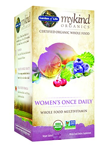 Garden-of-Life-Kind-Organics-Womens-Once-Daily-Multi-Tablets