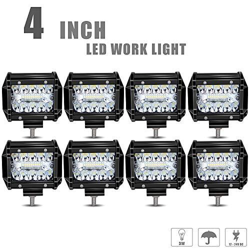 Tri-row Led Work Lights 4XBEAM 4