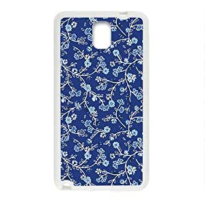 Blue Flower Vintage Style Phone Case for Samsung Galaxy Note3