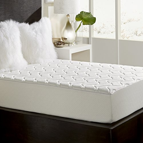 LoftWorks Rio Home Fashions 10-Inch Top Quilted Memory Foam Mattress, Queen