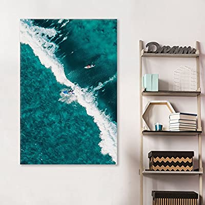 surfing wall art