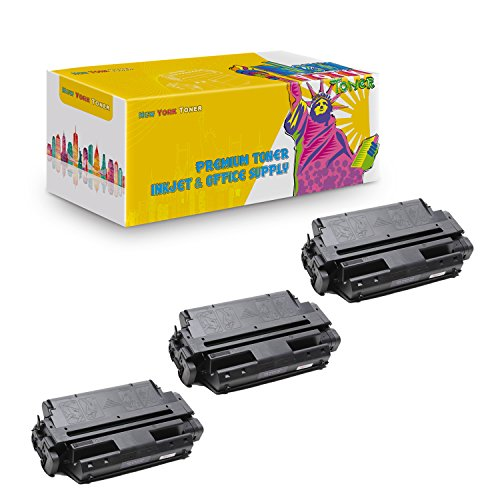 New York TonerTM New Compatible 3 Pack 63H2401 High Yield Toner for IBM - 4317   4317 . -- Black