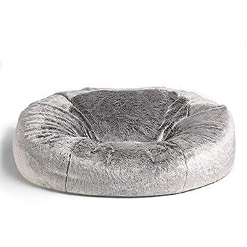 7edd25e9f2 icon Kenai Cloud Bean Bag Chair - Arctic Wolf Grey