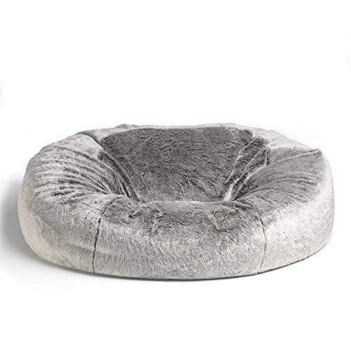 Icon Kenai Cloud Bean Bag Chair Arctic Wolf Grey 160cm