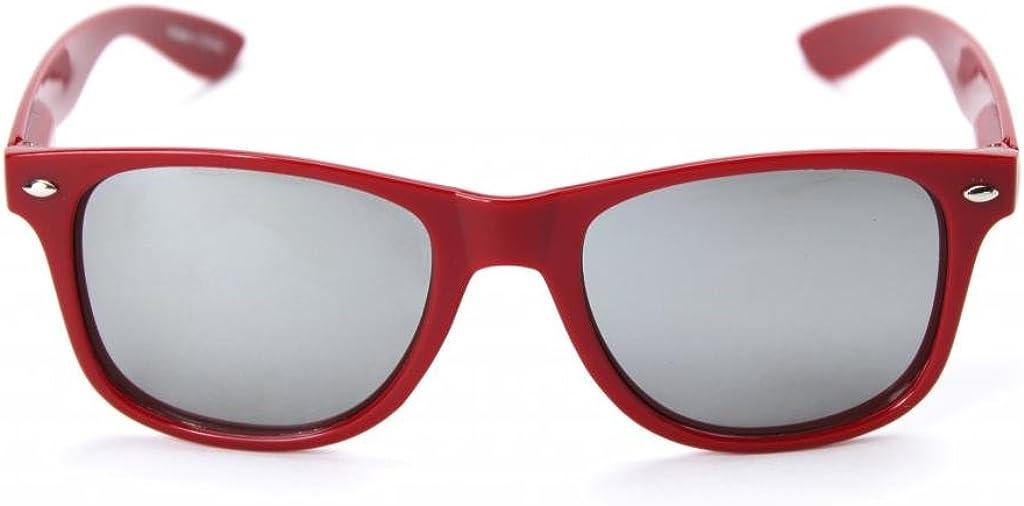 NCAA Indiana Hoosiers Sunglasses-Crimson Frame IND-1 Crimson Silver Lenses One Size