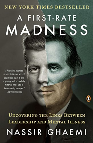 A First-Rate Madness: Uncovering the Links Between Leadership and Mental Illness cover