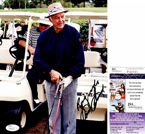 (Sam Snead Signed - Autographed GOLF 8x10 inch Photo - Deceased 2002 - JSA Certificate of Authenticity)