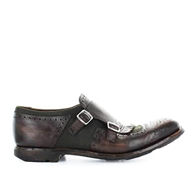 c0249f81129 Image Unavailable. Image not available for. Color  Church s Men s Shoes  Shanghai 10 Burnt Mimetic Moccasin ...