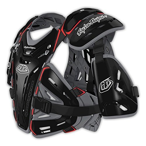 Troy Lee Designs Shock Doctor CP5955 Chest Protector (Large) (Black)