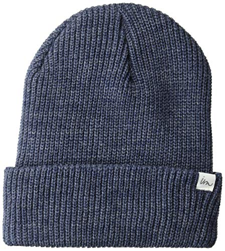 Imperial Motion Men's Norm Beanie, Denim Heather, One Size (Imperial Denim)