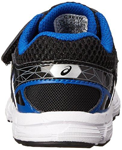 Asics GT 1000 3 TS Running Shoe (Toddler),Black/Lightning/Royal,5 M US Toddler